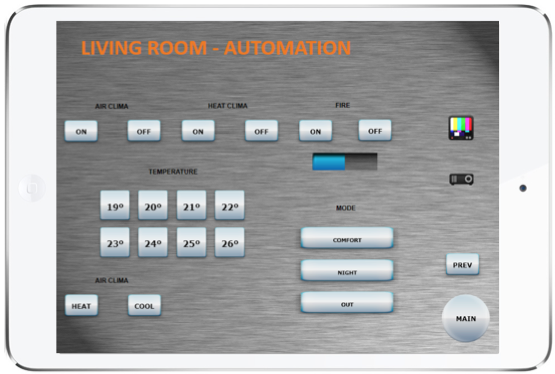Domotica con iPad