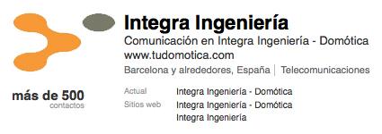 Linkedin - Integra Ingenieria